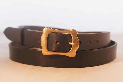 "Plain belts 1"" with Solid Brass Buckle"