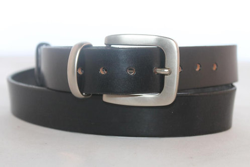Plain belts 30mm with Oval Nickel Plated Buckle