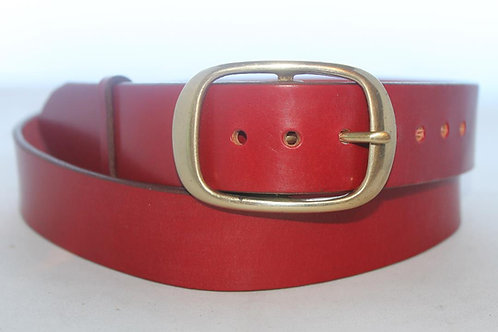 """Handmade Leather Belt 