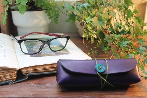 Glasses case Purple | Triangular shaped case