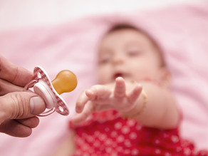 Introduce a pacifier? Yes or no?