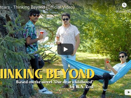 """Nightcars nos presentan su nuevo trabajo visual y videoclip de """"Thinking Beyond""""."""