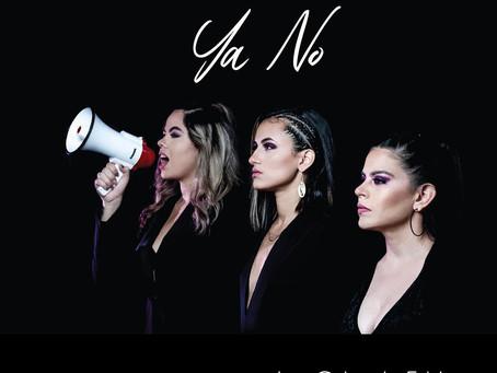 """Las Cejas de Frida alzan su voz en contra de la violencia de género en su single """"Ya no""""."""