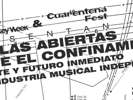 Charlas Desde el Confinamiento: Presente y futuro de la industria musical independiente.