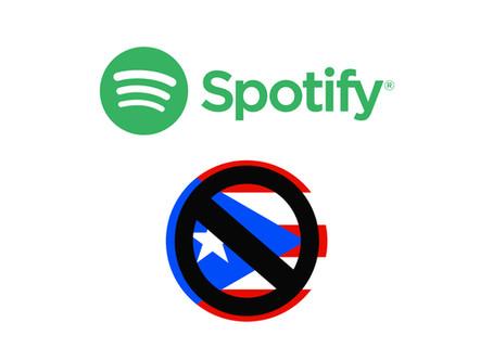 Músicxs de Puerto Rico le reclaman a Spotify el reconocimiento como territorio.