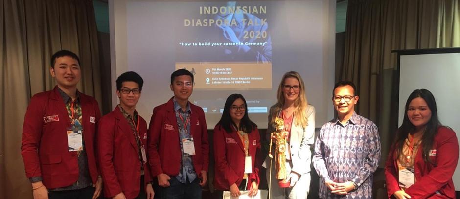 Indonesian Diaspora Talk 2020: Vortrag zum Fachkräfteeinwanderungsgesetz