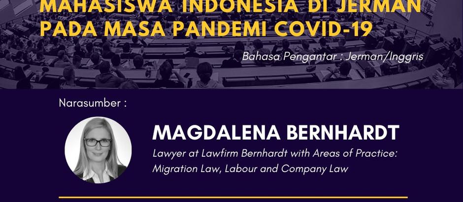 Webinar zum Aufenthaltsrecht für indonesische Staatsbürger