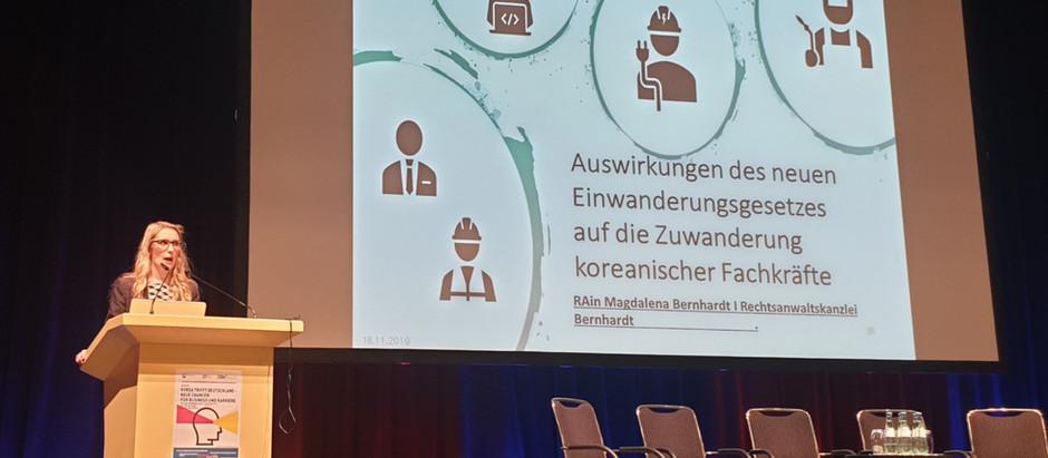Vortrag zum neuen Fachkräfteeinwanderungsgesetz