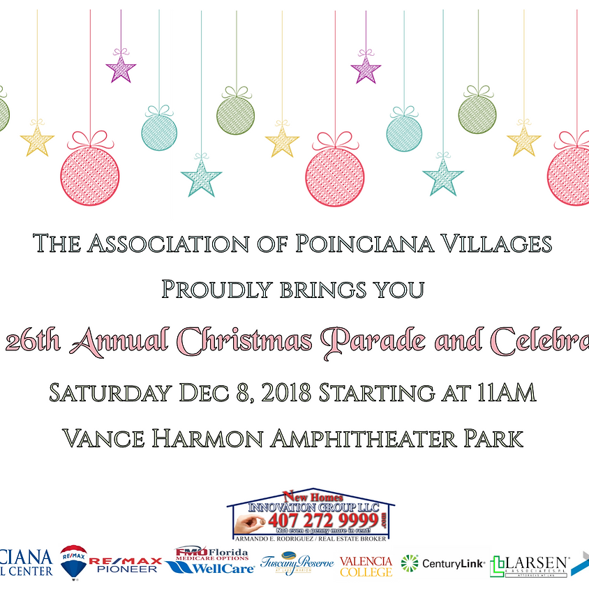 26th Annual Christmas Parade and Celebration
