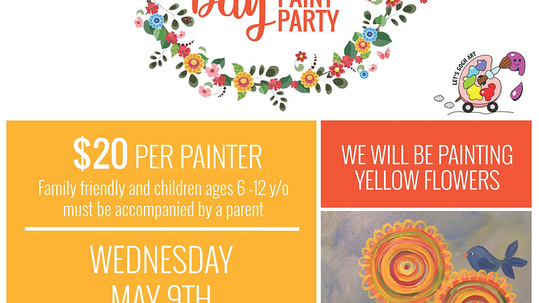 Mother's Day Paint Event