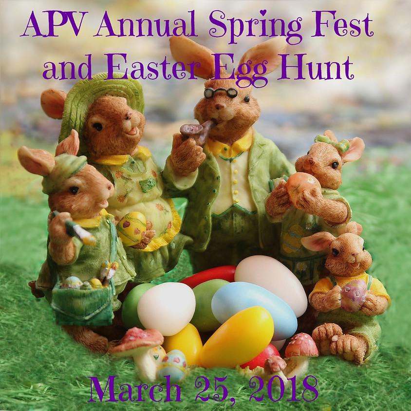 APV Annual Spring Fest and Easter Egg Hunt