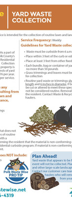 Polk County Yard Waste Collection Guidel