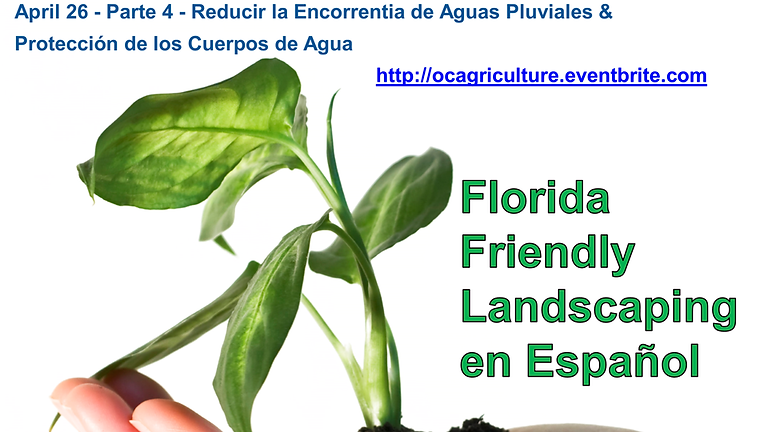 Florida Friendly Landscaping Series en Espanol