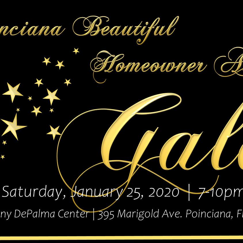 Poinciana Beautiful Homeowners Awards Gala