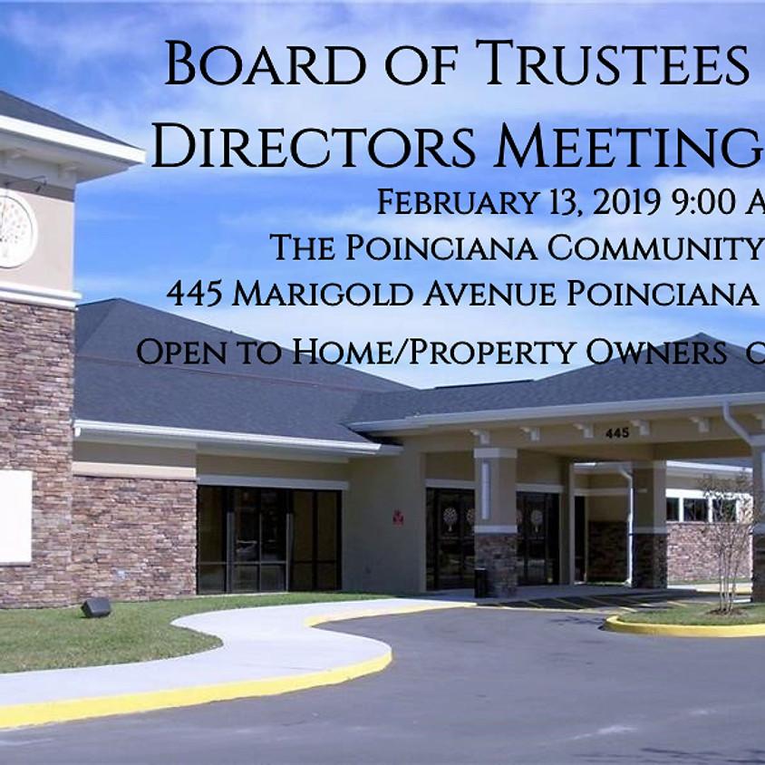 Board of Trustees Directors Meeting