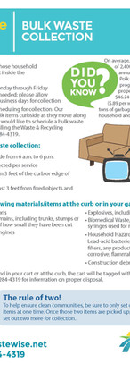Polk County Guidelines for Bulk Waste Co