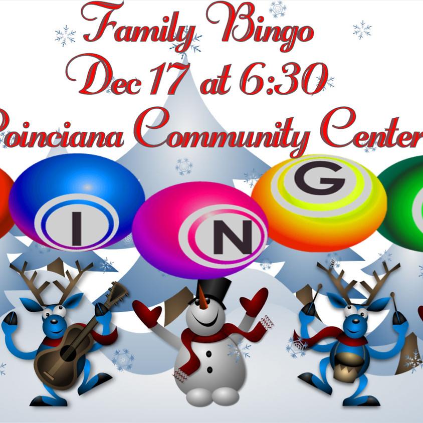 Winter Break Family Bingo FREE
