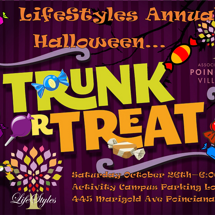 LifeStyles Halloween Trunk or Treat