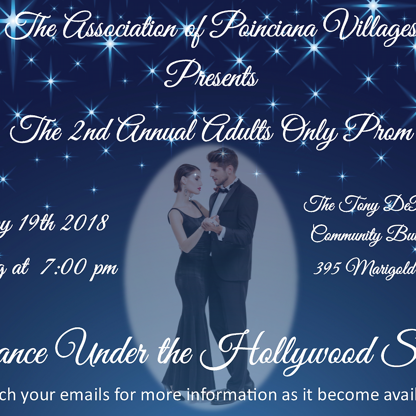 2018 Poinciana Adult Prom