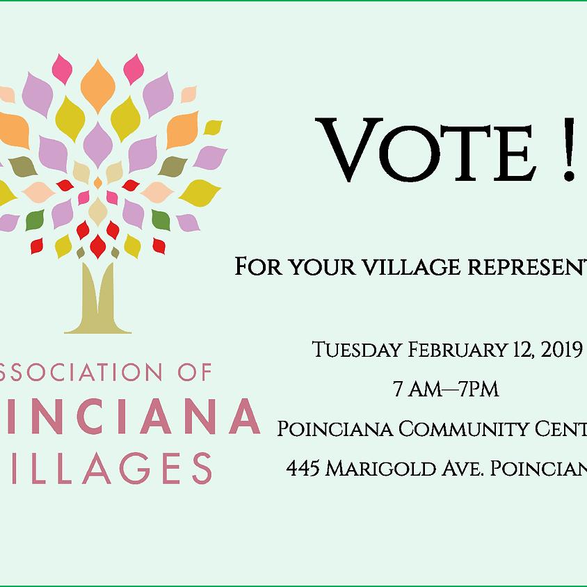 Voting for Village Representatives