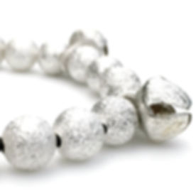 Silver Stardust Bead Bracelet