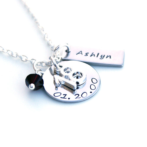 Personalised 18th Birthday Necklace