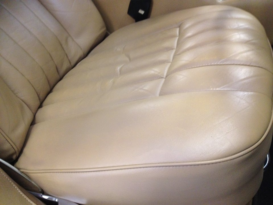 Jaguar drivers seat