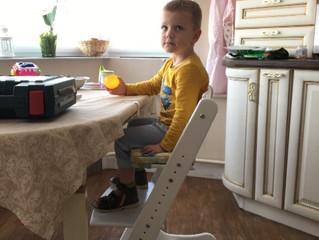 Регулируемый растущий стул  Конек Горбунок для будущего школьника, какой же он?