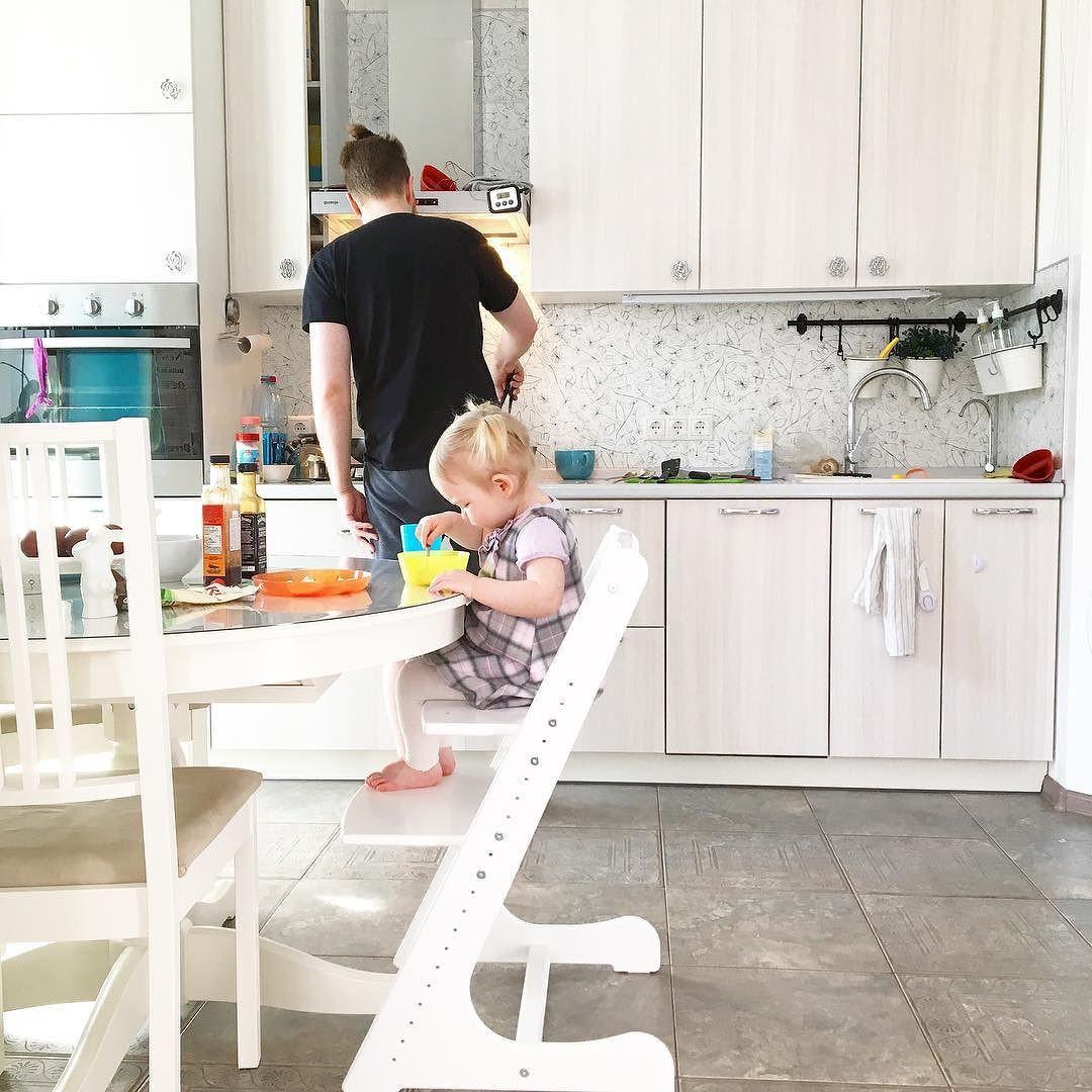Стул Конек Горбунок, детский растущий стульчик для ребенка
