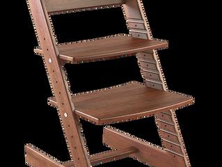Растущий стул из 100% массива Бука-Стул Конек Горбунок