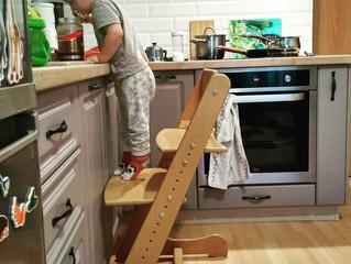 Выбрала детский растущий стул и не пожалела!