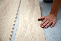 Tompkins Flooring Llaminate Installation