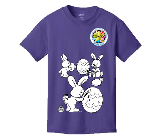 Egg Coloring Shirts- Youth Sizes