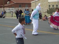 Folklorico Dancer w Bunny.JPG