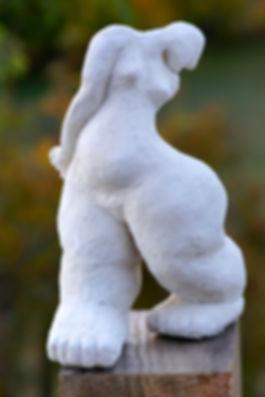 Samé sculptures, Les Petits Poissons, faïence blanche 2016.