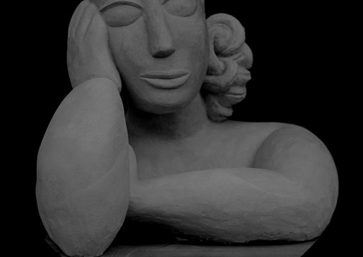 Le sixième doigt - céramique - Samé scul