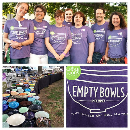 McKinney Art Studio proud sponsor of Empty Bowls McKinney