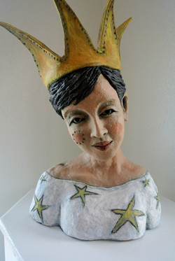 Starry Soul  Paper Clay Sculpture