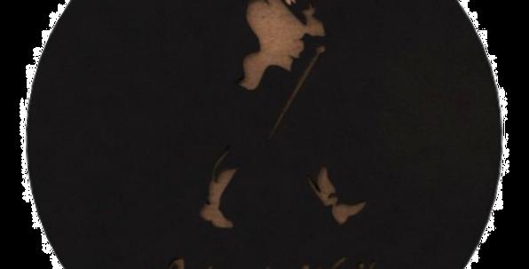 Porta Copo Johnnie Walker - 10x10cm