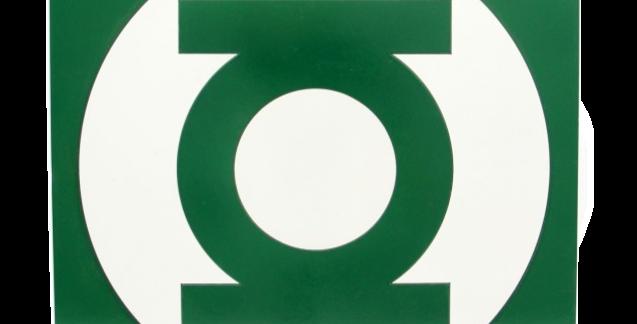 Quadro Decorativo Super Herói Lanterna Verde - 40x40cm