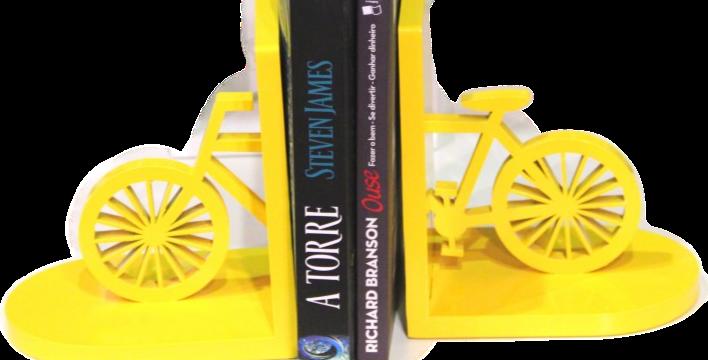 Aparador de Livro Bicicleta - 11,2x32cm