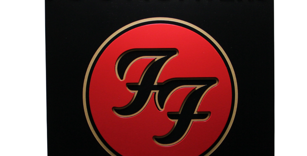 Quadro Foo Fighters 3/6mm