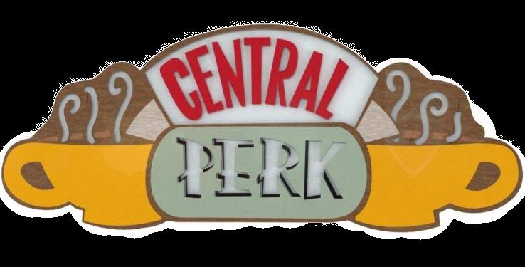 Quadro Central Perk - 20x50cm