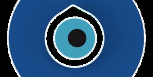 Objeto Olho Grego - 20x20cm
