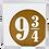 Thumbnail: Quadro Harry Potter Estação 9 3/4 - 20x20cm