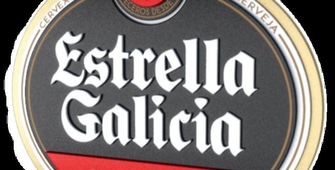 Quadro Estrella Galicia - 38,1x40cm