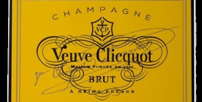 Quadro Rótulo Veuve Clicquot - 34,6x52cm