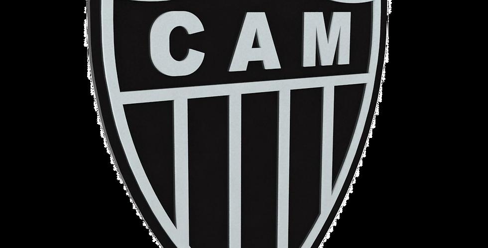 Quadro de Bar Laqueado - Time Atlético Mineiro - 40x40cm