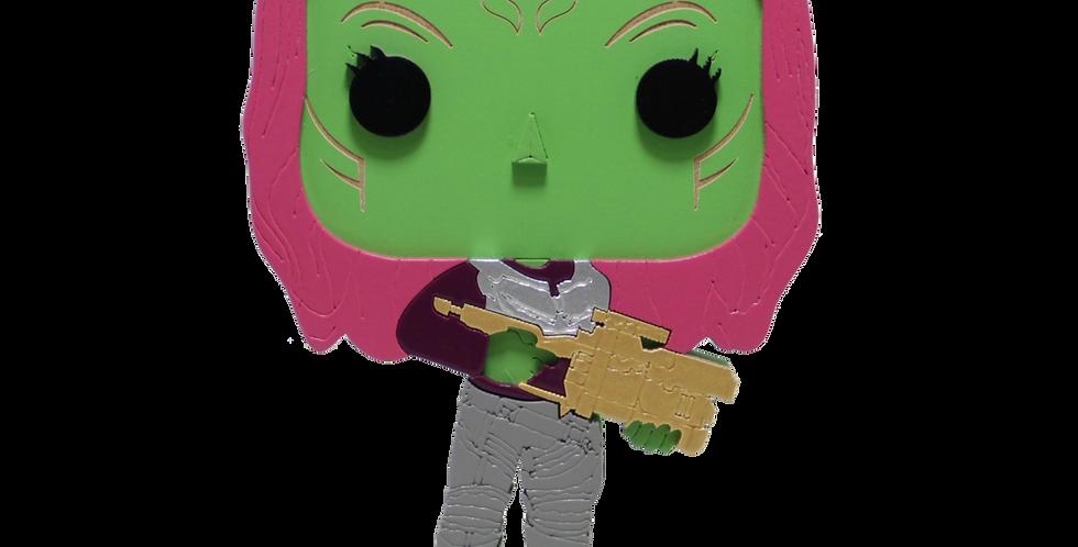 Boneco Laqueado- Geek- Guardiões da Galaxia - Gamora - 19x15