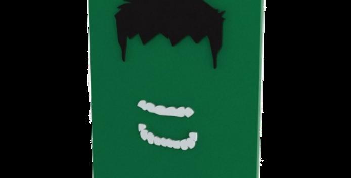 Quadro Decorativo Hulk - 40x27cm
